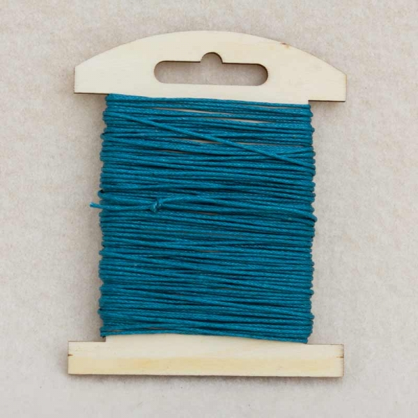 Synthetik-Kordel blau