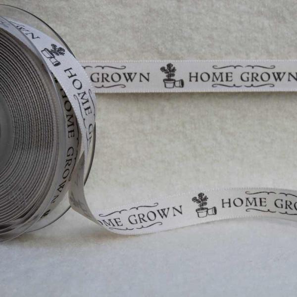 Dekoband 'HOME GROWN'