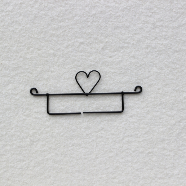 Drahthänger 'Kleines Herz'