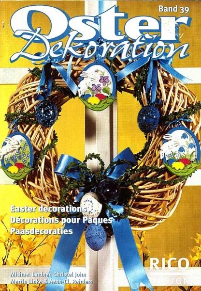 Stickheft ' Oster-Dekoration'
