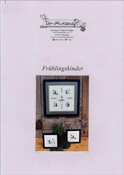 Kreuzstichanleitung FRÜHLINGSKINDER