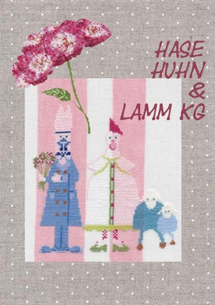 Stickbuch HASE HUHN & LAMM KG