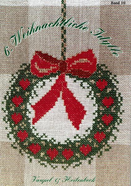 Kreuzstichheft 6. Weihnachtliche Idylle