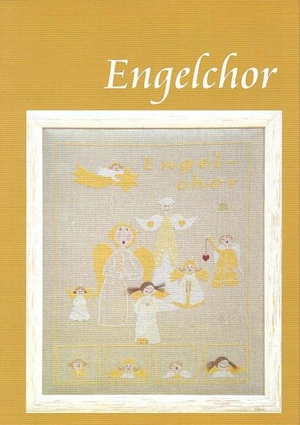 Stickvorlage ENGELCHOR