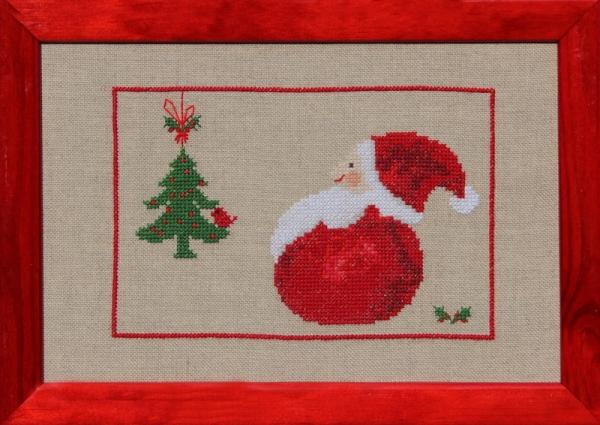 Bilderrahmen für dicken Nikolaus