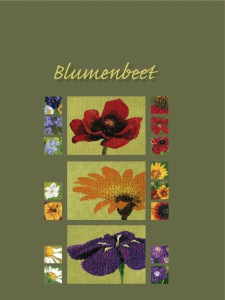 Stickbuch BLUMENBEET